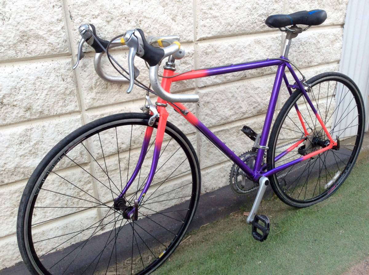 レア品 中古品 ロードバイク 700c 当時物 メーカー不明 即決金額で発送無料。_画像9