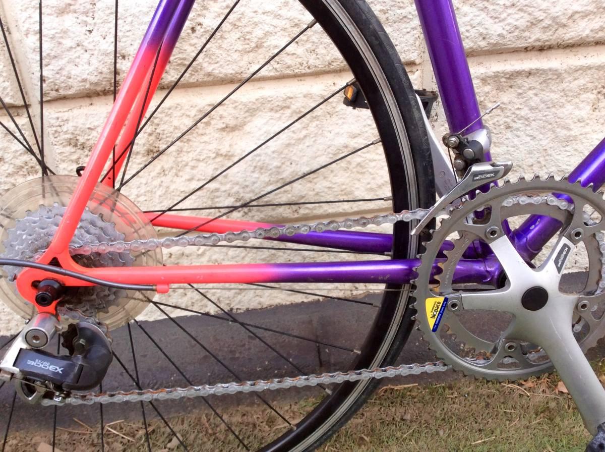 レア品 中古品 ロードバイク 700c 当時物 メーカー不明 即決金額で発送無料。_画像2