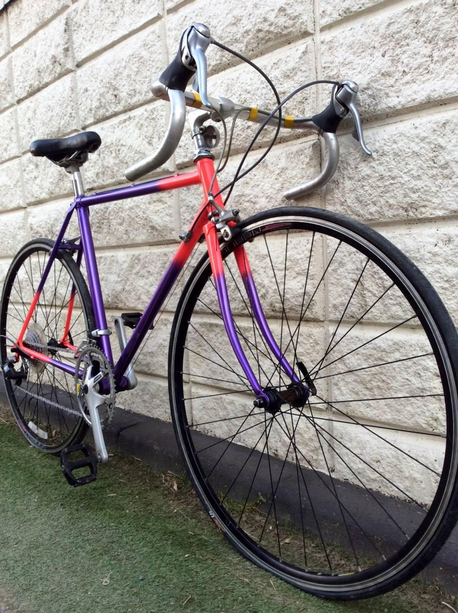 レア品 中古品 ロードバイク 700c 当時物 メーカー不明 即決金額で発送無料。_画像6