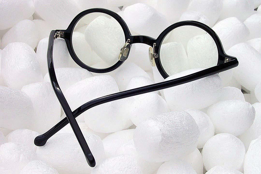 送料込み 白山眼鏡(ハクサンガンキョウ)「ROUND (classic) ラウンドクラシック 丸眼鏡 黒ブラック 伊達メガネ_画像7