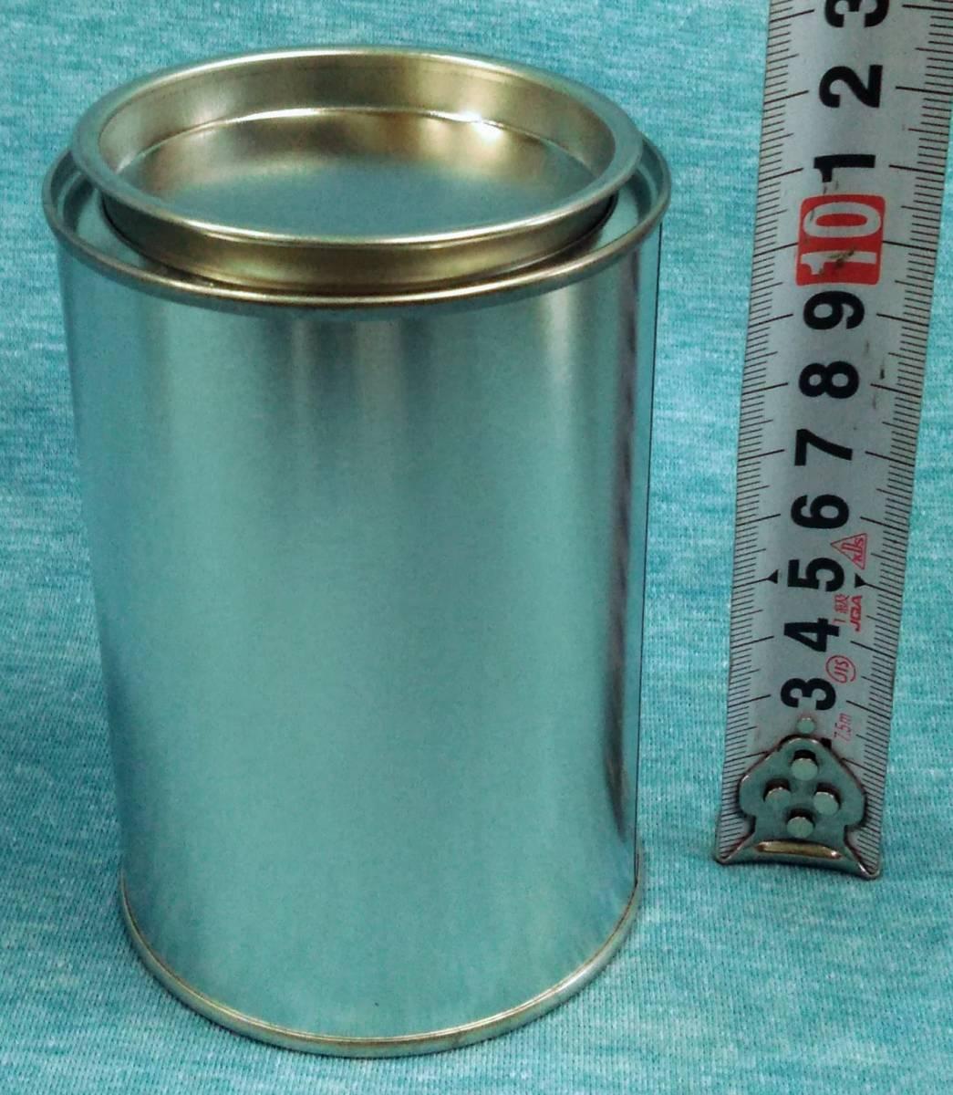 各種小分け 詰め替え保存容器 ブリキ空缶 1ポンド(約500g)缶_画像1
