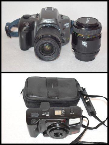ニコンNikon PRONEA 600i /IX-Nikkor 24-70mm F3.5-5.6/ COSINA コシナ 100mm 1:3.5 MACRO/OLYMPUS IZM200 38-80mm コンパクトカメラ/BVH81_画像5