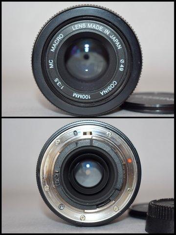 ニコンNikon PRONEA 600i /IX-Nikkor 24-70mm F3.5-5.6/ COSINA コシナ 100mm 1:3.5 MACRO/OLYMPUS IZM200 38-80mm コンパクトカメラ/BVH81_画像8