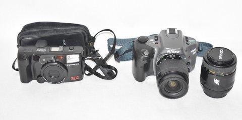 ニコンNikon PRONEA 600i /IX-Nikkor 24-70mm F3.5-5.6/ COSINA コシナ 100mm 1:3.5 MACRO/OLYMPUS IZM200 38-80mm コンパクトカメラ/BVH81_画像2