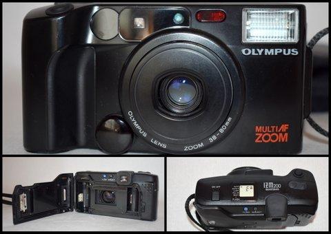 ニコンNikon PRONEA 600i /IX-Nikkor 24-70mm F3.5-5.6/ COSINA コシナ 100mm 1:3.5 MACRO/OLYMPUS IZM200 38-80mm コンパクトカメラ/BVH81_画像6