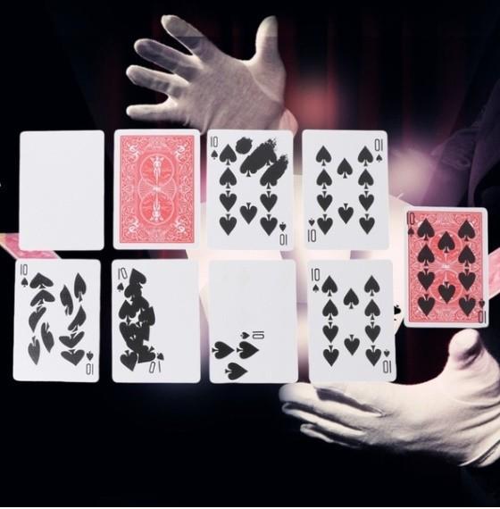 Z255 手品 マジック 魔法 高速印刷ギミック カード トリック 小道具 マジシャン トランプ 多機能 高品質 宴会 飲み会_画像5