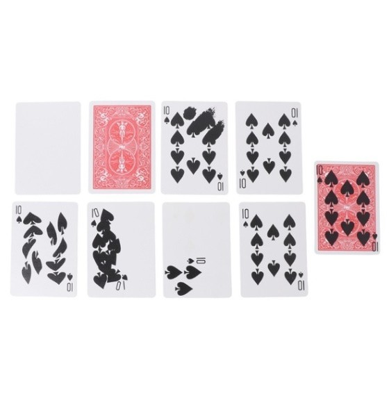 Z255 手品 マジック 魔法 高速印刷ギミック カード トリック 小道具 マジシャン トランプ 多機能 高品質 宴会 飲み会_画像7