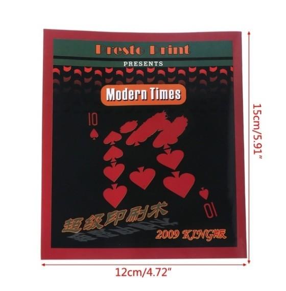 Z255 手品 マジック 魔法 高速印刷ギミック カード トリック 小道具 マジシャン トランプ 多機能 高品質 宴会 飲み会_画像2