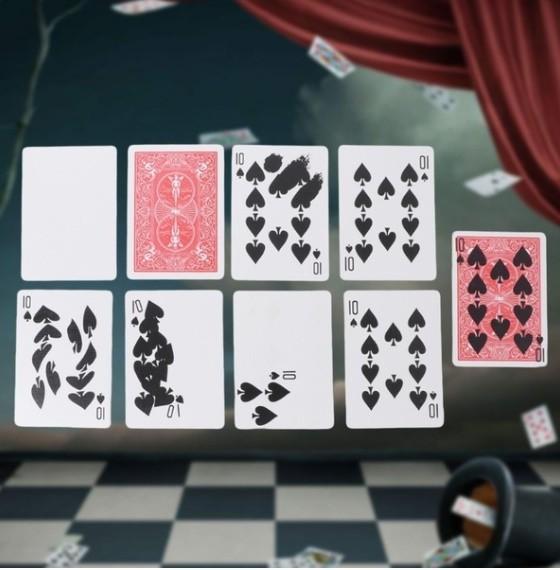 Z255 手品 マジック 魔法 高速印刷ギミック カード トリック 小道具 マジシャン トランプ 多機能 高品質 宴会 飲み会
