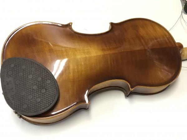 ジャンク品 Kiso Suzuki Violin Copy of Antonius Stradivarus Anno 1973 №9 破損品 ケース付き_画像6