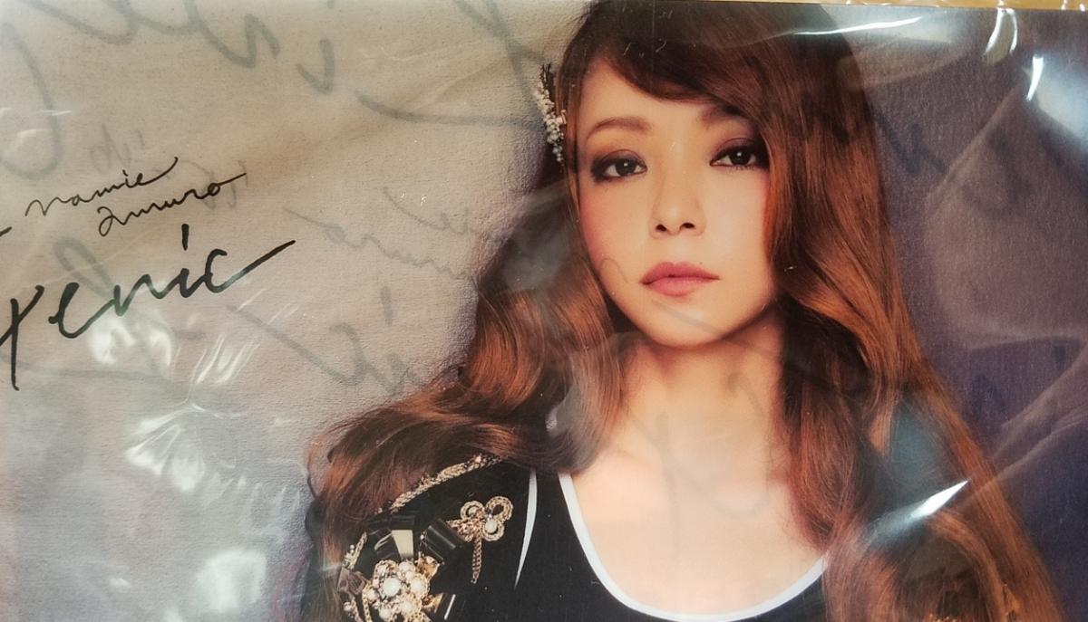 ♪安室奈美恵 LIVE GENIC マフラータオル&クリアファイル♪★_画像7