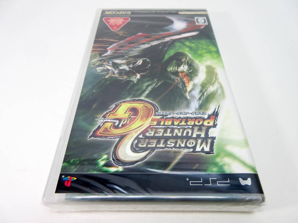 【新品未開封】【PSP】 モンスターハンターポータブル 2nd G セカンド 送料無料! PlayStation Portable_画像5