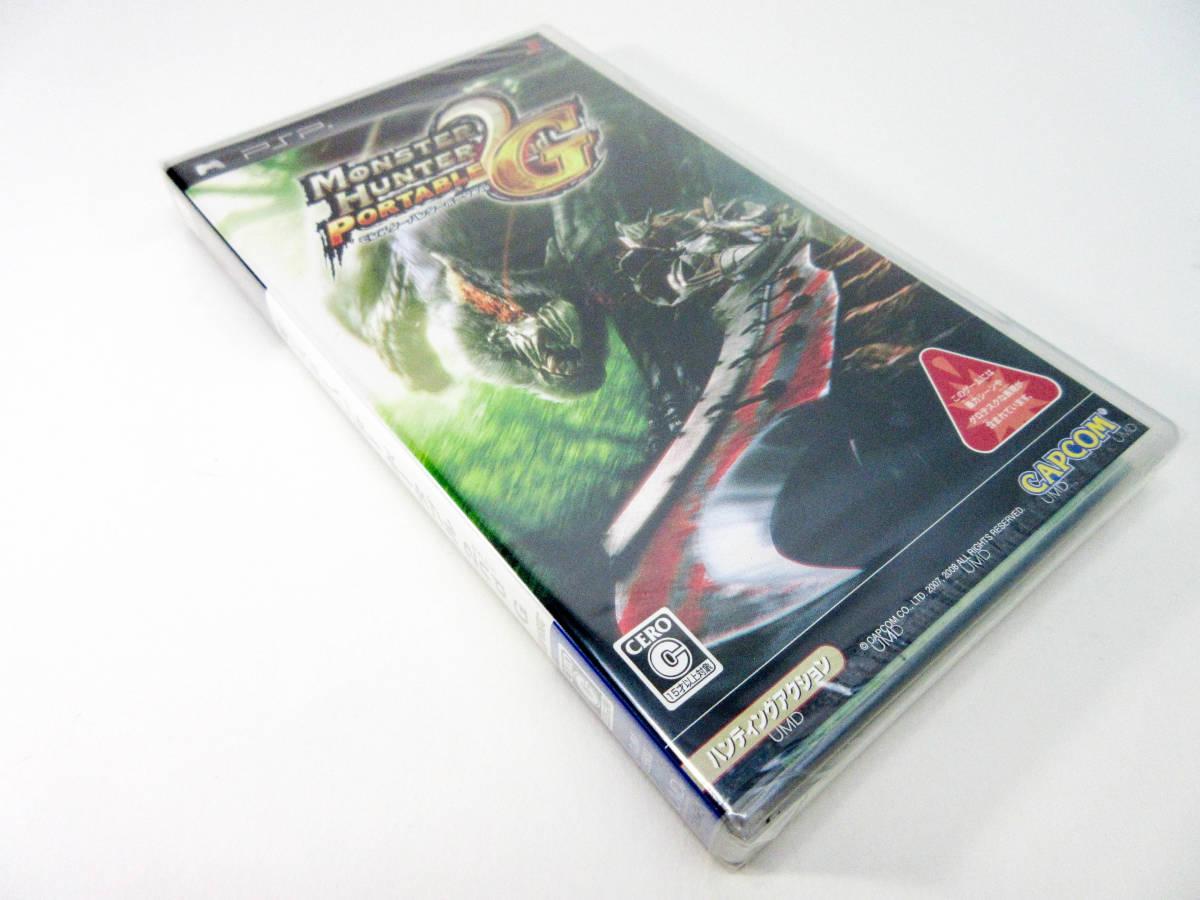 【新品未開封】【PSP】 モンスターハンターポータブル 2nd G セカンド 送料無料! PlayStation Portable_画像7