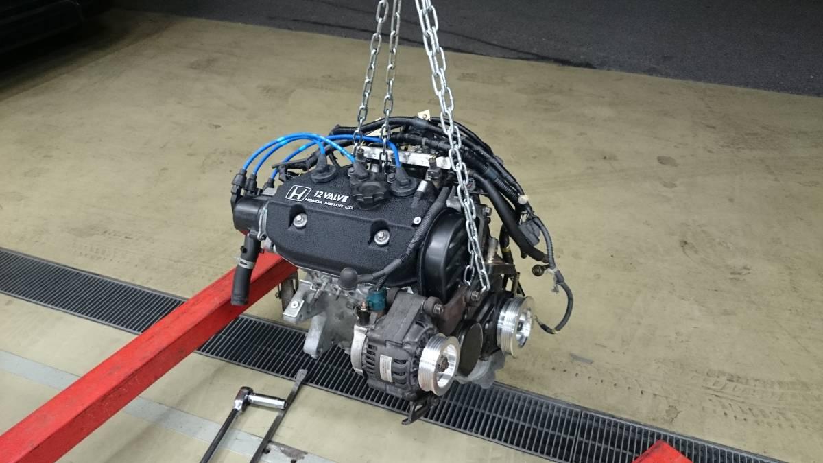 エンジン完成時の写真
