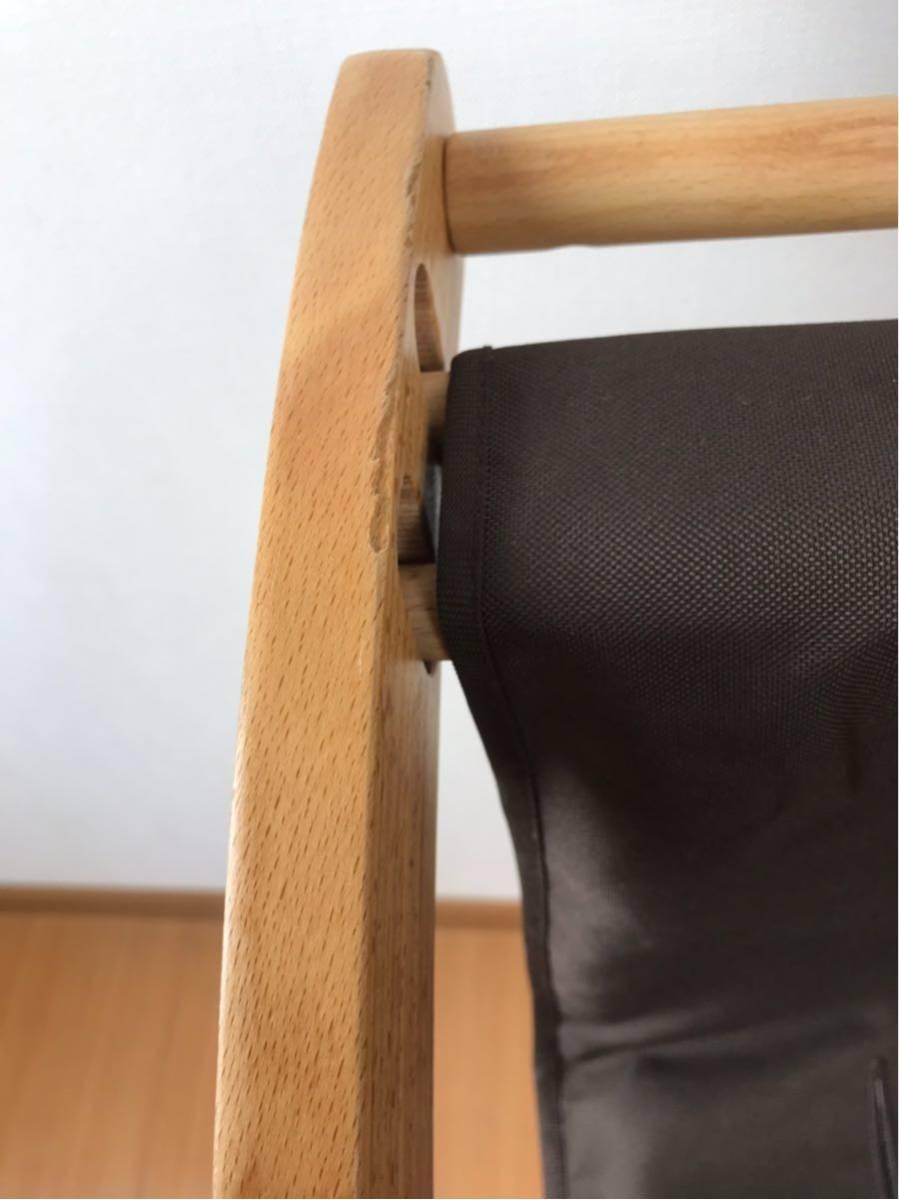 BH-J3Z farska ファルスカ スクロールチェア 子供から大人まで ナチュラル ブラウン テーブル付き キッズチェア 子供椅子 検) ストッケ_画像10