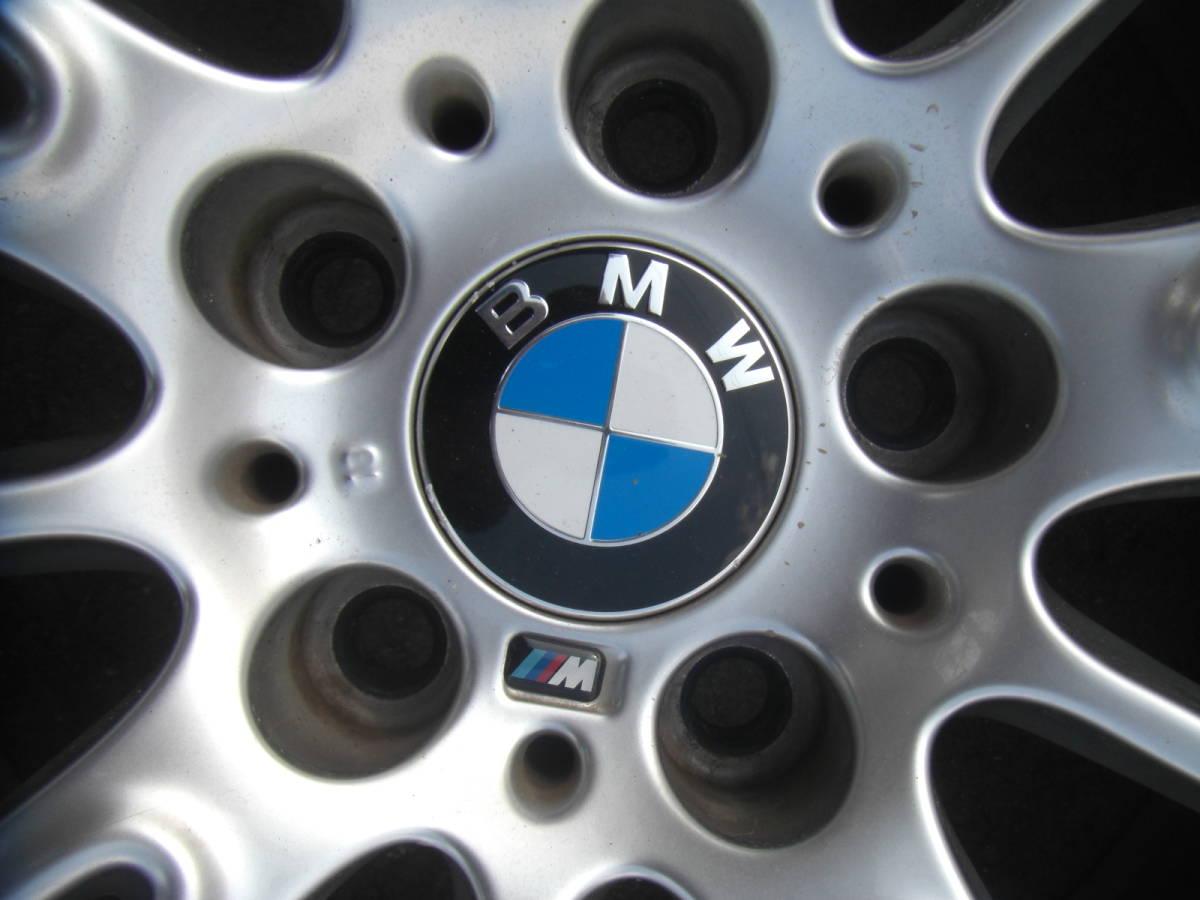 BMW E90 E92 3シリーズ Mスポーツ 純正 18in 8J+32 8.5J+37 PCD120 ブリヂストン ポテンザ 225/40R18 255/35R18_画像6
