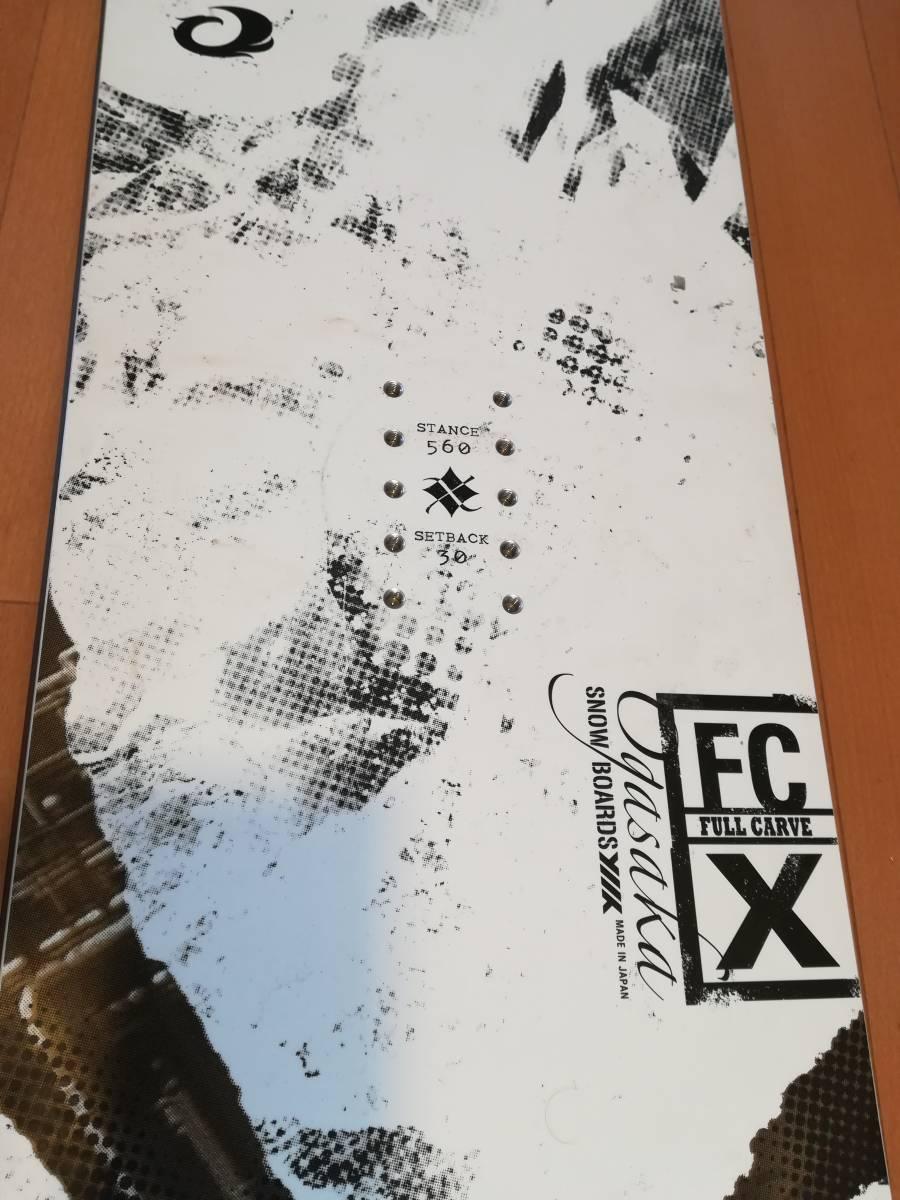 ogasaka FC-X 17-18モデル 158 中古_画像4