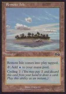 025223-002 US/USG 離れ島/Remote Isle 英2枚_画像1