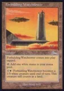 027046-002 UL/ULG 近づきがたい監視塔/Forbidding Watchtower 英2枚_画像1
