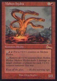 027035-002 UL/ULG 高熱のハイドラ/Molten Hydra 英1枚_画像1