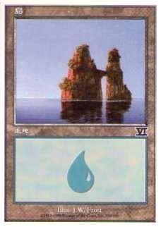 028336-008 第6版/6E/6ED/6TH 基本土地 島/Island(336/350) 日1枚_画像1