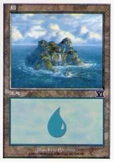 028338-008 第6版/6E/6ED/6TH 基本土地 島/Island(338/350) 日1枚_画像1