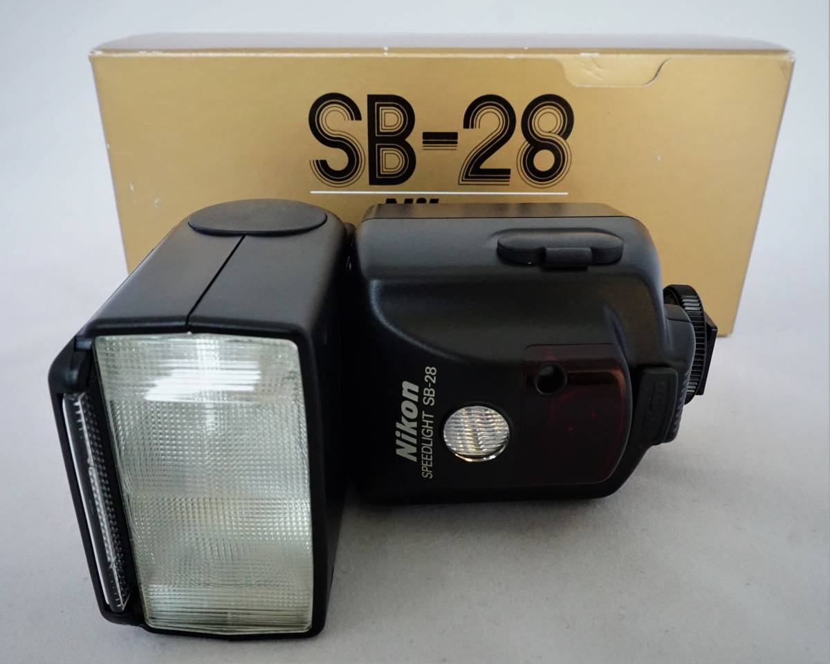 NIKON ニコン スピードライト SB-28 極上美品