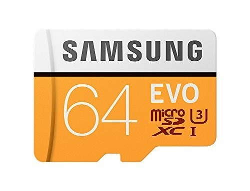 Samsung 64GB microSDXC エーデータ SDアダプター付 マイクロSD