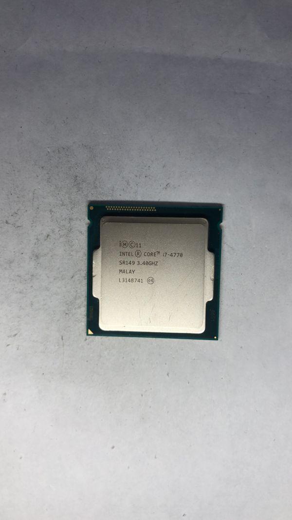 CPU Intel i7-4770 SR149 3.40Ghz LGA1150 ジャンク
