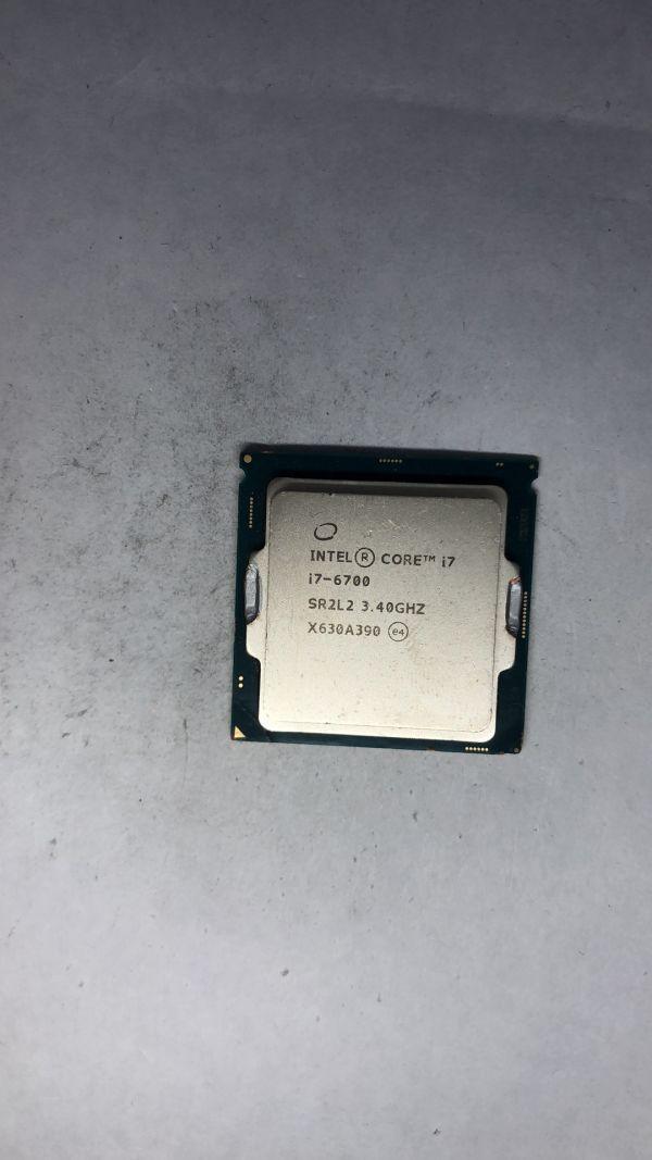 CPU Intel i7-6700 SR2L2 3.40Ghz LGA1151ジャンク