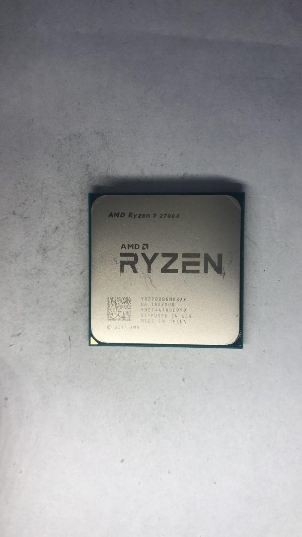 CPU AMD Ryzen7 2700X 3.70Ghz AM4 ジャンク6