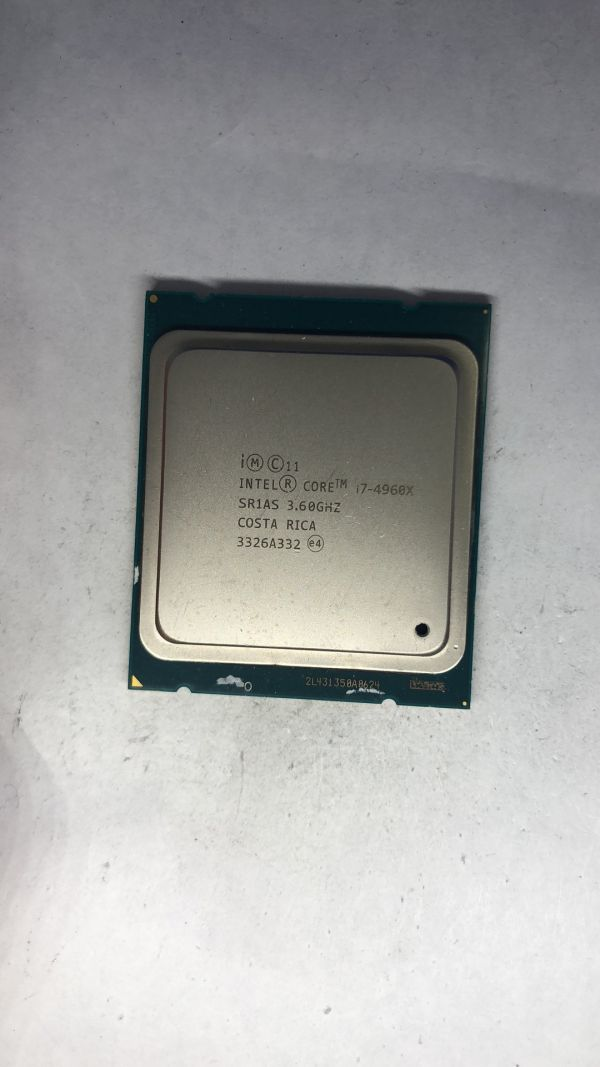 CPU Intel i7-4960X SR1AS 3.60Ghz LGA2011 ジャンク 1