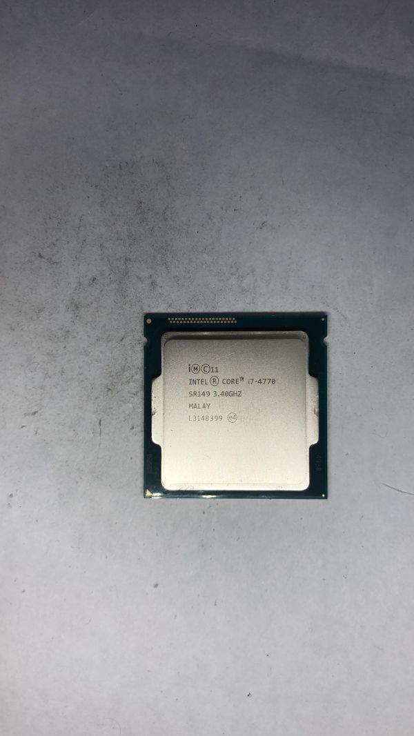 CPU Intel i7-4770 SR149 3.40Ghz LGA1150 ジャンク