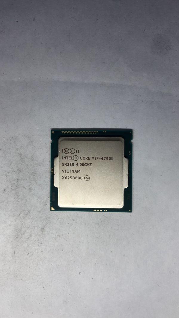 CPU Intel i7-4790K SR219 4.0Ghz LGA1150 ジャンク
