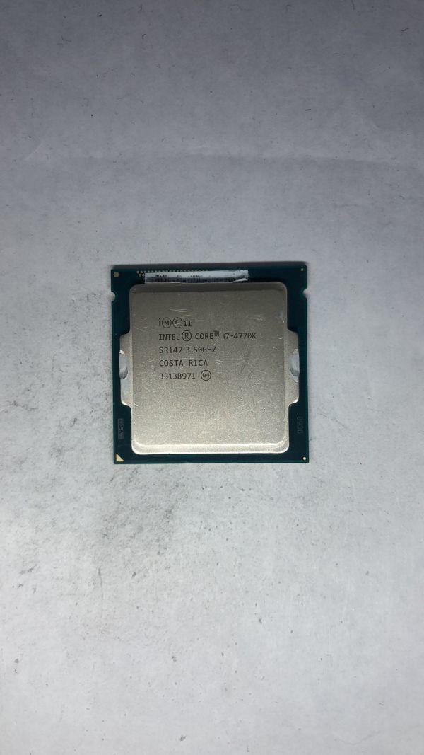 CPU Intel i7-4770K SR147 3050Ghz LGA1150 ジャンク