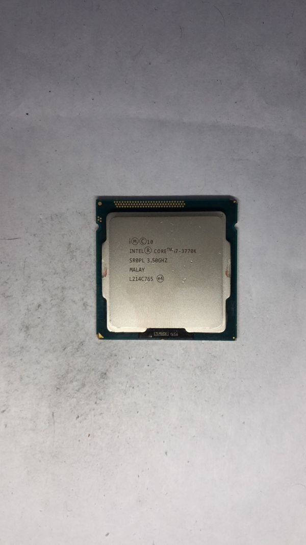 CPU Intel i7-3770K SR0PL 3.50Ghz LGA1155 ジャンク