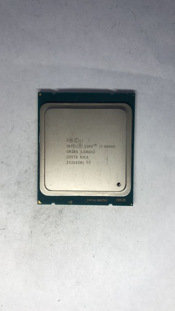 CPU Intel i7-4960X SR1AS 3.60Ghz LGA2011 ジャンク