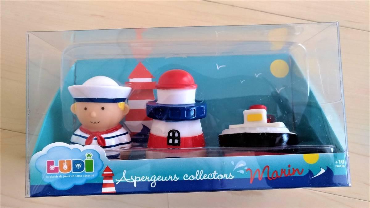 LUDI (ルディ) ウォータースクイーター マリン (Aspergeurs collectors marin) 水遊び / お風呂のおもちゃ 水鉄砲_画像2