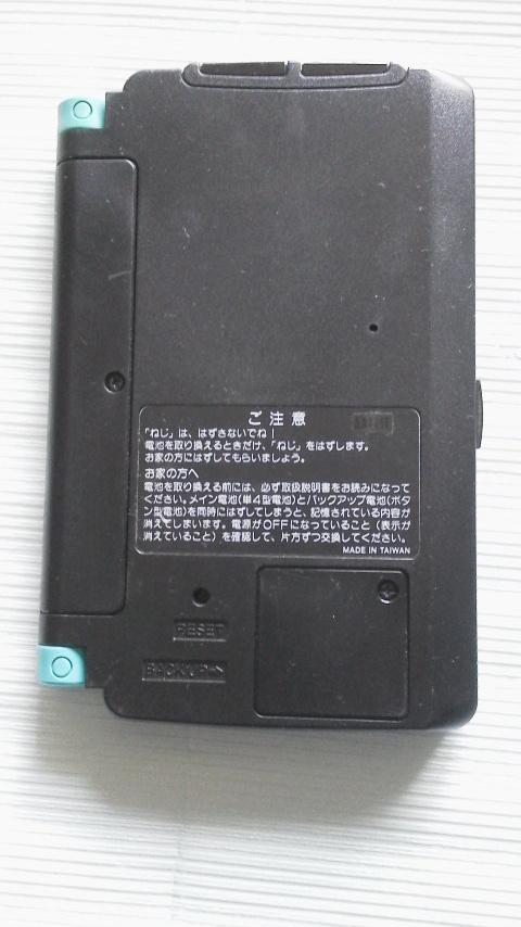 カシオ (CASIO) TWIN GOAL スーパー電子手帳 <ジャンク>_画像3