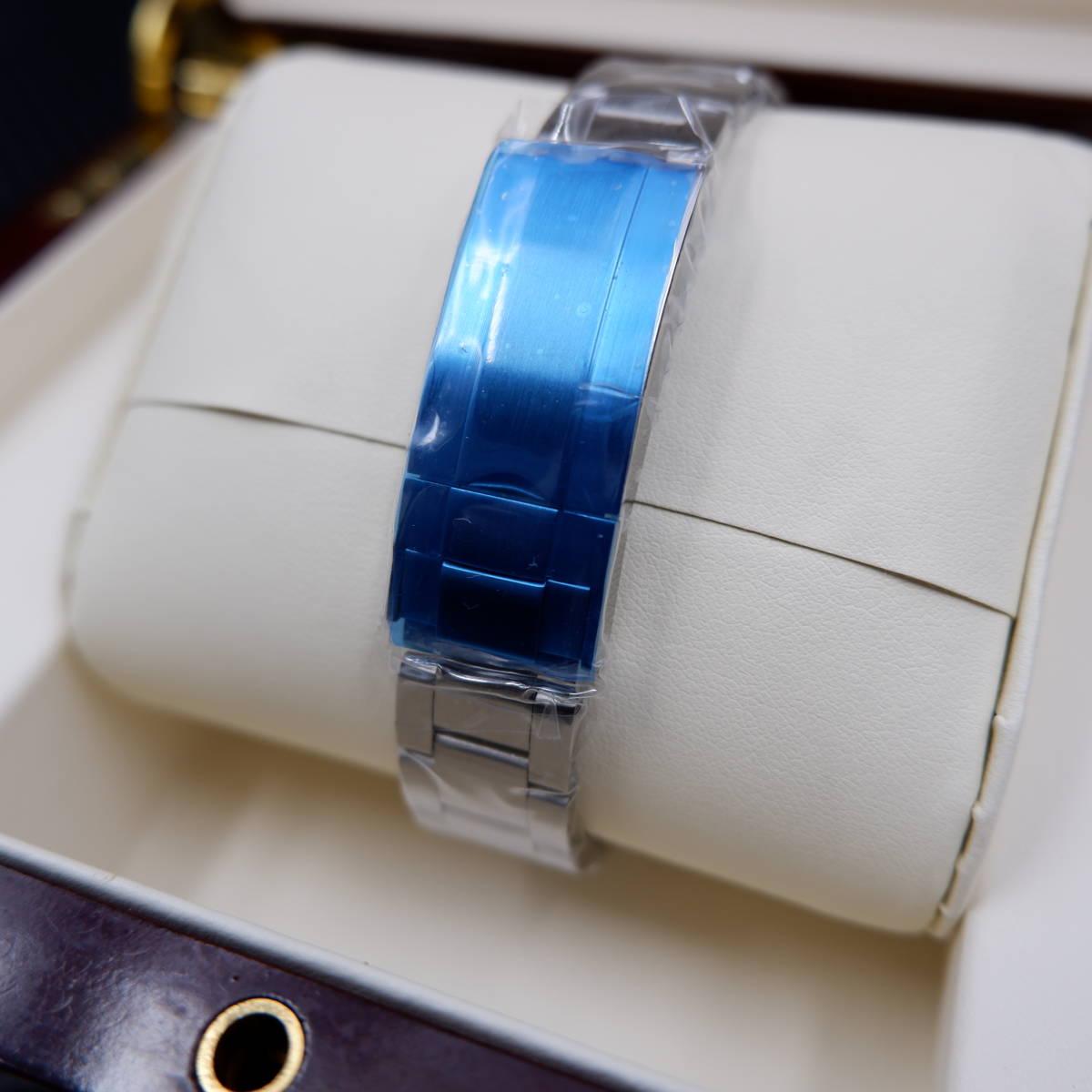 【希望小売価格:29,800円】日本製ムーブメント40mmメンズ自動巻き腕時計ミルガウス/スーツに似合う人気高級ブランド/防水/おすすめ_画像5
