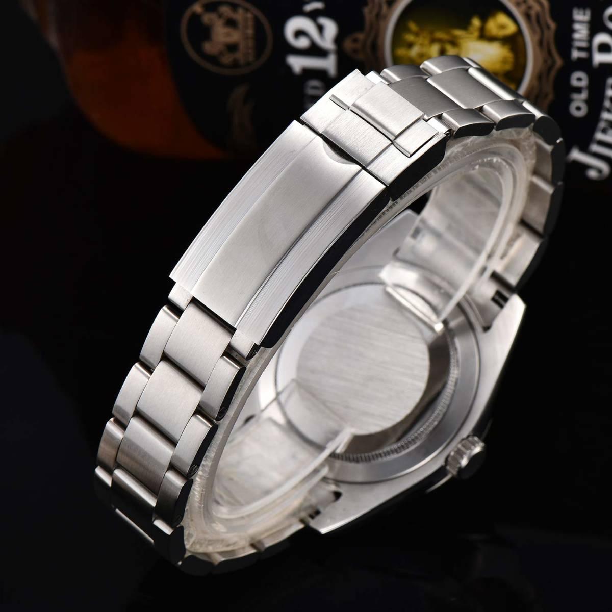 【希望小売価格:29,800円】日本製ムーブメント40mmメンズ自動巻き腕時計ミルガウス/スーツに似合う人気高級ブランド/防水/おすすめ_画像9