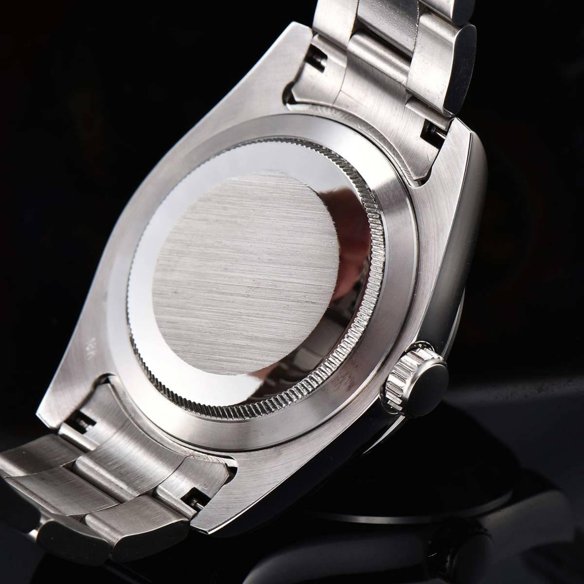 【希望小売価格:29,800円】日本製ムーブメント40mmメンズ自動巻き腕時計ミルガウス/スーツに似合う人気高級ブランド/防水/おすすめ_画像10