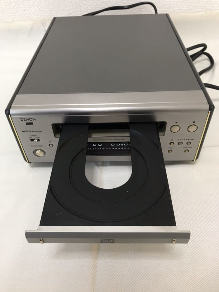 DENON CDプレーヤー DCD-7.5L 動作品 ジャンク扱い 8m6045_画像4