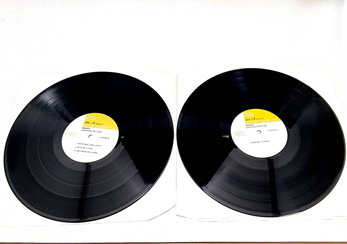 2710【LP盤】★美盤☆ めったに出品されない◎エドガー・ウィンター【ライブ/ロード・ワーク】 ☆★≪貴重レコード≫おまとめ発送も可_画像6