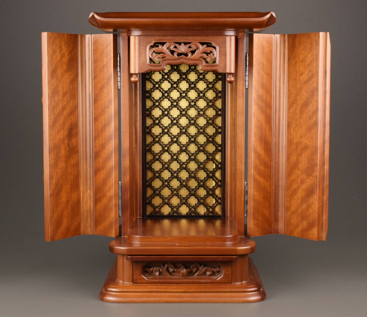 仏教美術 木造 厨子 高さ37㎝_画像2