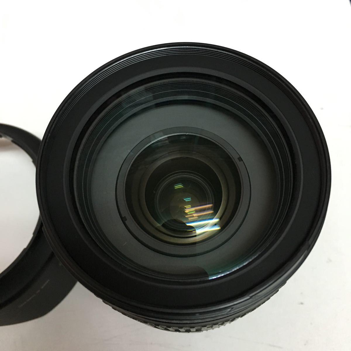 混入あり Nikon 標準ズームレンズ AF-S NIKKOR 24-120mm f/4G ED VR フルサイズ対応_画像3
