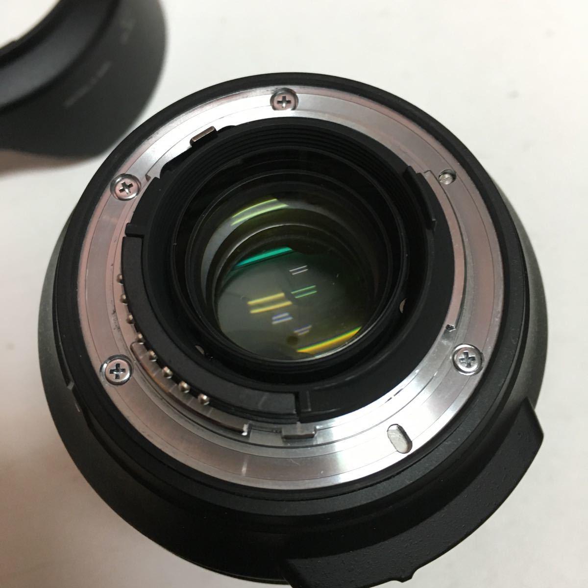 混入あり Nikon 標準ズームレンズ AF-S NIKKOR 24-120mm f/4G ED VR フルサイズ対応_画像6