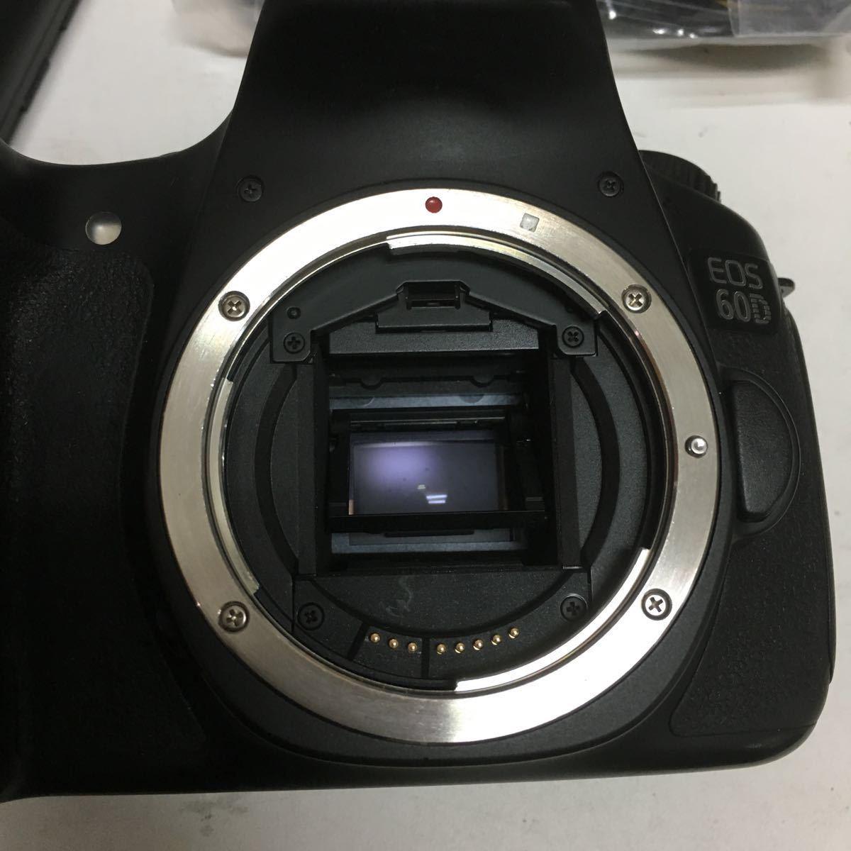 Canon デジタル一眼レフカメラ EOS 60D ボディ EOS60D_画像4