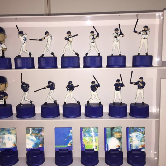 イチロー ペプシ ボトルキャップ 全26種類 シアトルマリナーズ ケース付き_画像2