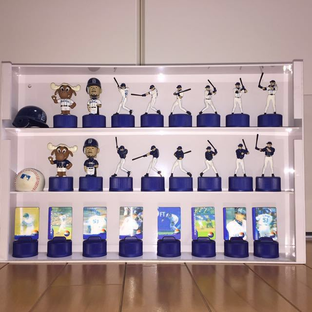 イチロー ペプシ ボトルキャップ 全26種類 シアトルマリナーズ ケース付き_画像1